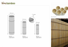 Synthetic Bamboo sticks